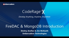 Learn To Quickly Use NoSQL With MongoDB And FireDAC In Delphi And C++Builder