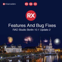 Feature And Bug Fix List For RAD Studio 10.1 Berlin Subscription Update 2 - Anniversary Edition