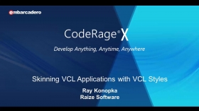 How To Skin VCL Apps With Custom VCL Styles In Delphi And C++Builder