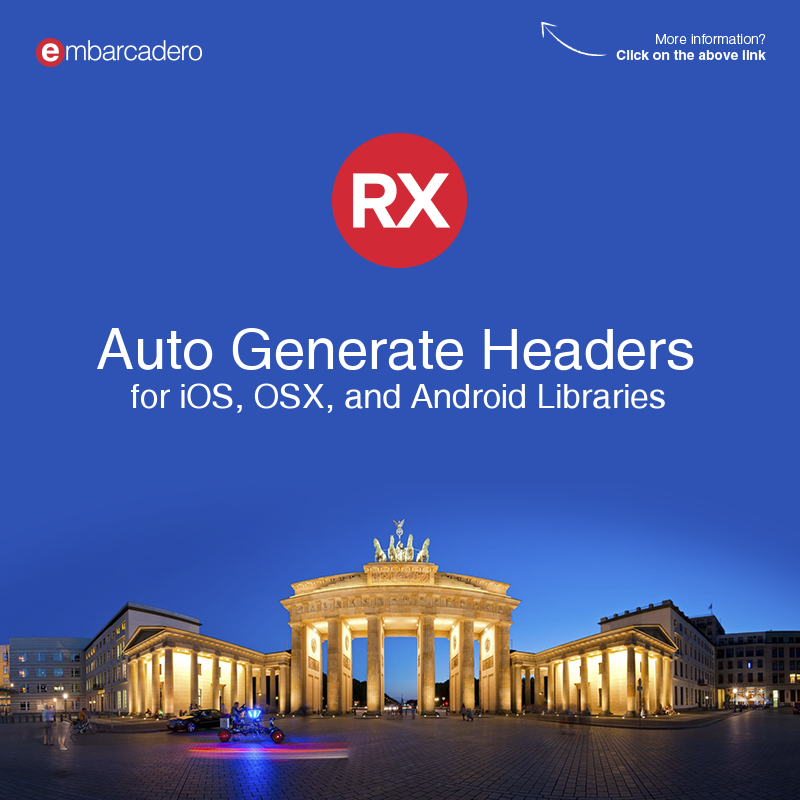 Quickly Auto Generate iOS, OSX, And Android Headers For Delphi And C