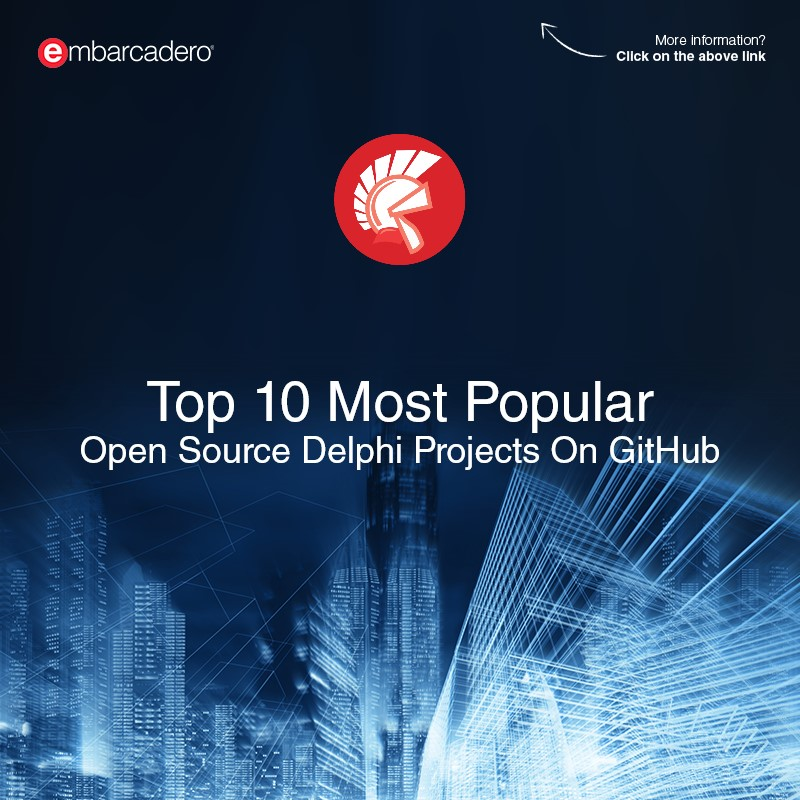 Top 10 Most Popular Open Source Delphi Projects On GitHub By Star