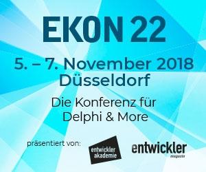 On the road again: EKON 22, 5.-7- November, Düsseldorf