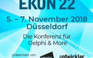 On the road again: EKON 22, 5.-7- November, Düsseldorf