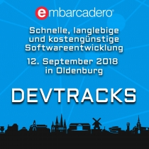 On the road again: DevTracks 12. September, Oldenburg
