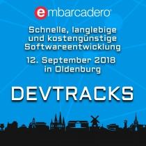 On the road again: DevTracks 12. September, Oldenburg