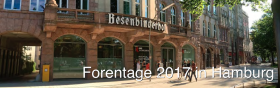 Call 4 Papers: Foren-Tage 2017 in Hamburg