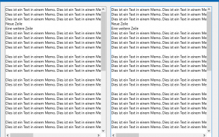 C++Builder: Paralleles Scrollen von Memos (TMemo) in FireMonkey mit der ViewportPosition