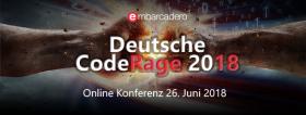 CodeRage DE 2018: Termin, Anmeldung, Infos und Vorstellung der Präsentatoren