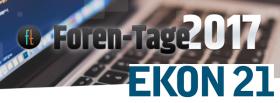 Back to the Future: Rückblick Forentage in Hamburg und EKON in Köln