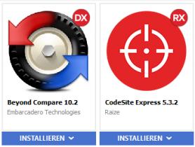 Tech Tipp #6: Neue Tools über GetIt: Beyond Compare und CodeSite Express