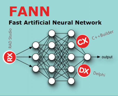 Implementing FANN (Fast Artificial Neural Network) to C++ Builder/Delphi Projects