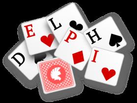Shuffling playing cards with Delphi خلط كروت اللعب بالدلفي